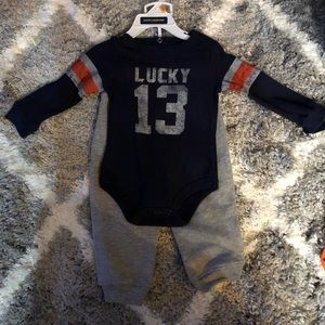 Lucky Brand thermal onesie with sweatpants!